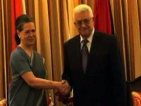 News video: Mahmoud Abbas meets Sonia Gandhi